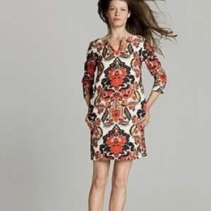 J Crew Antonia Linen Dress size 2 Paisley
